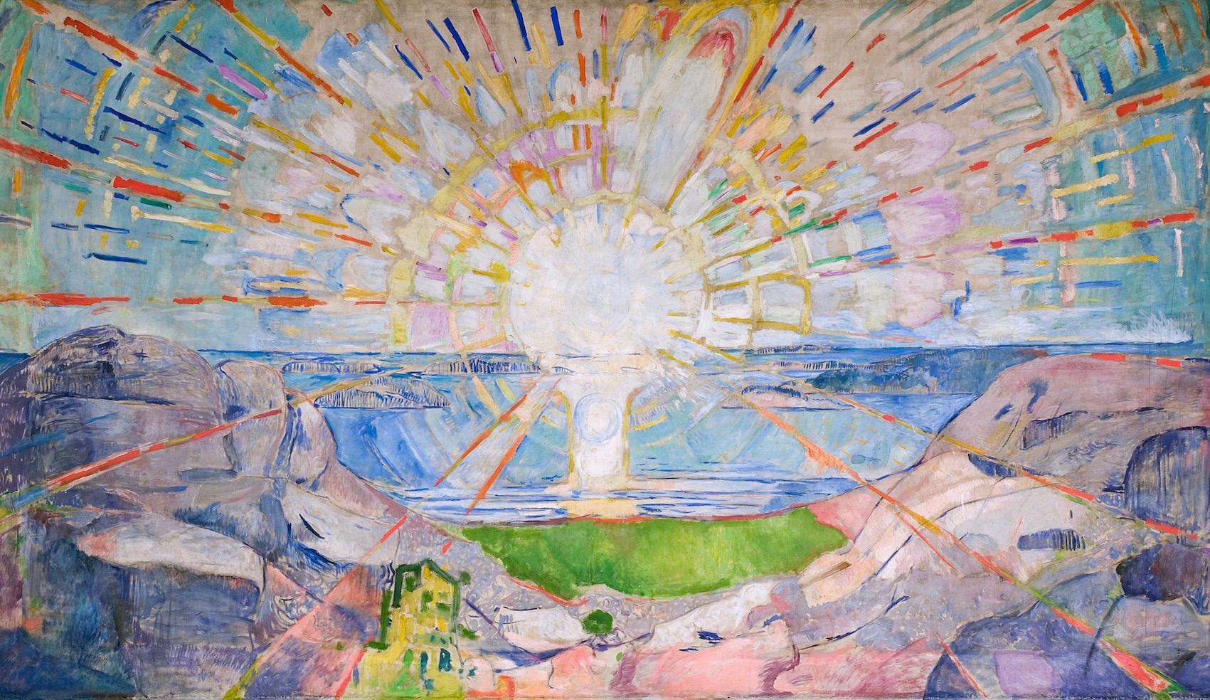 Edvard Munch: The Sun, 1911 © Munch m/Munch Museum/Munch-Ellingsen Gruppen